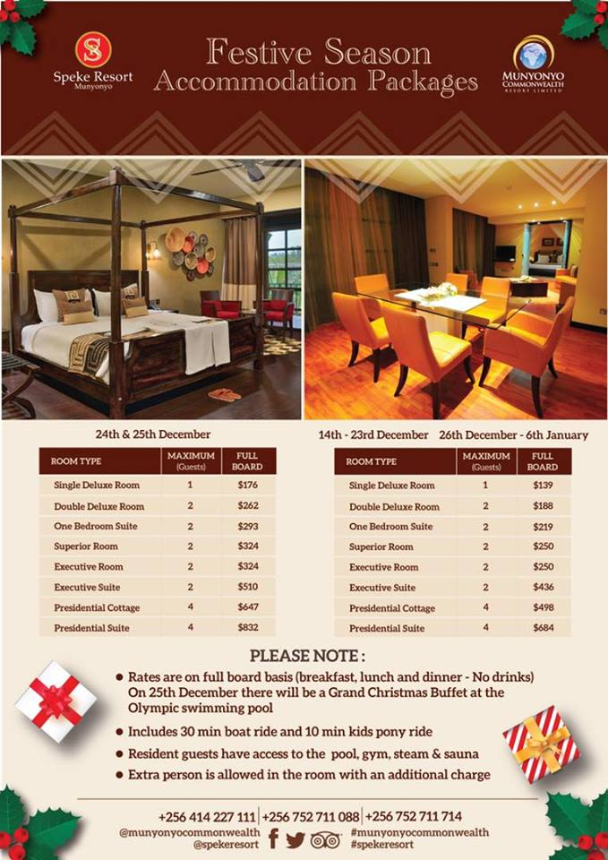 Festive Season Starts At Speke Resort