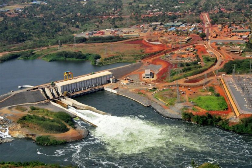 An energy project in Uganda