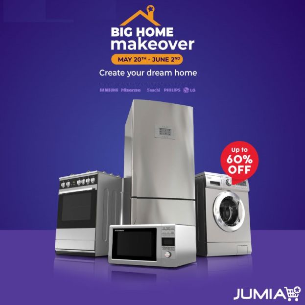 Jumia Big Home Makeover Shopping Bonanza Ends