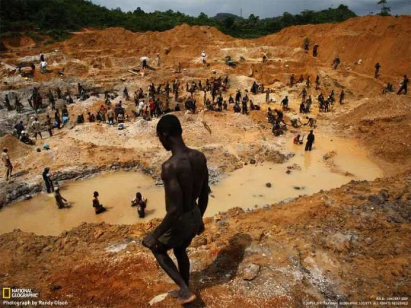 Mining in Wes Africa