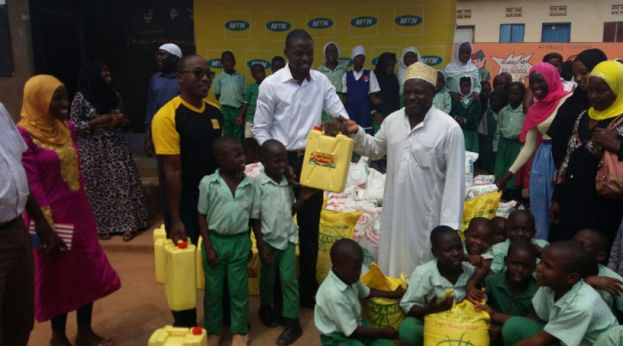 Iddi El Fitr: MTN donates To Kawempe Islamic Orphanage