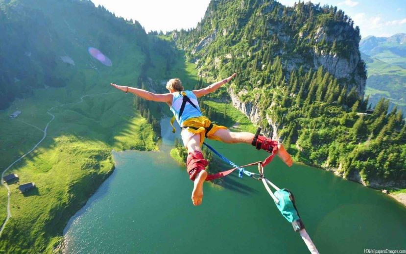 Thrill seekers are eager to take part in exciting but risky activities