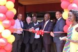 The launch of Java Coffee House at Shell Amber-court in Jinja