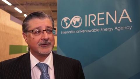 Adnan Z. Amin, Director-General of the International Renewable Energy Agency