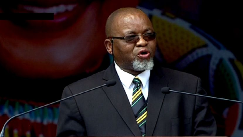 South Africa's Mineral Resources and Energy Minister, Gwede Mantashe.