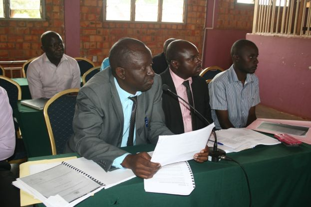 The Cao Kibaale and Chief Finance Office Appearing Before the Public Accounts Committee
