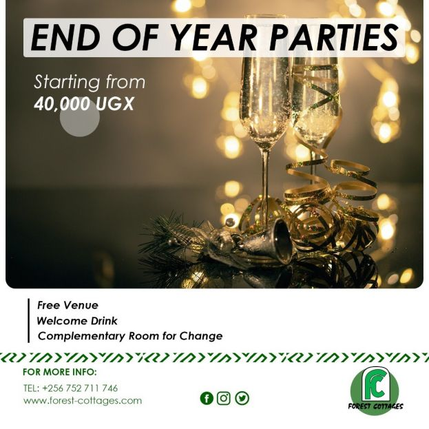 You Can Now Host Your End Of Year Party At Forest Cottages