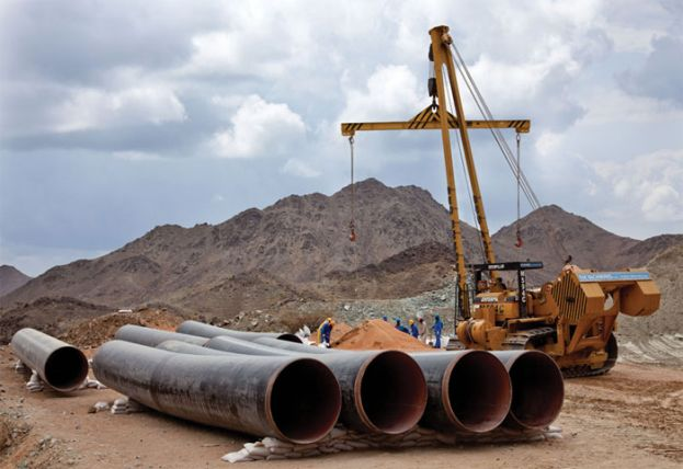 Over 350000 jobs will be created when the East African Crude Oil Pipeline is constructed
