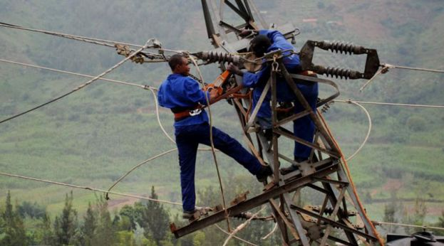 Much of rural Uganda has no access to electricity