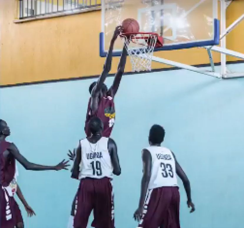 Giant of Africa engaged young basketballers at KISU
