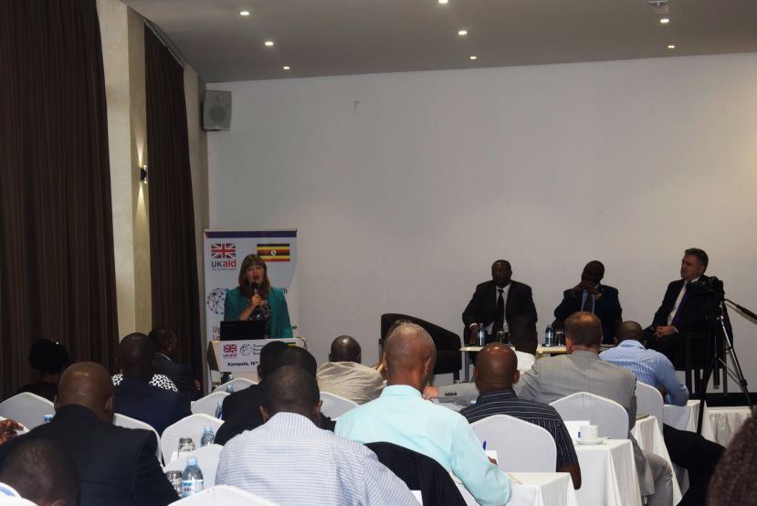 Participants at the launch of the Commonwealth Standards Network Project in Kampala, Uganda