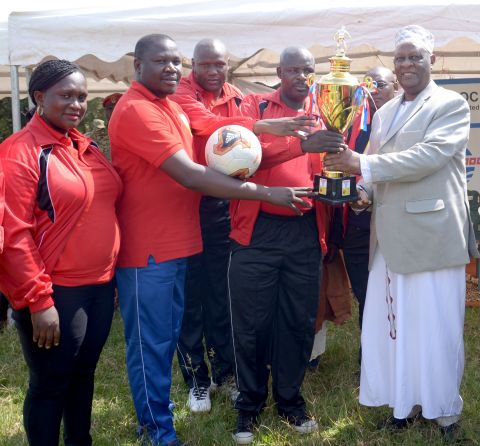 CNOOC will for the fith year sponsor Bunyoro Amasaza cup