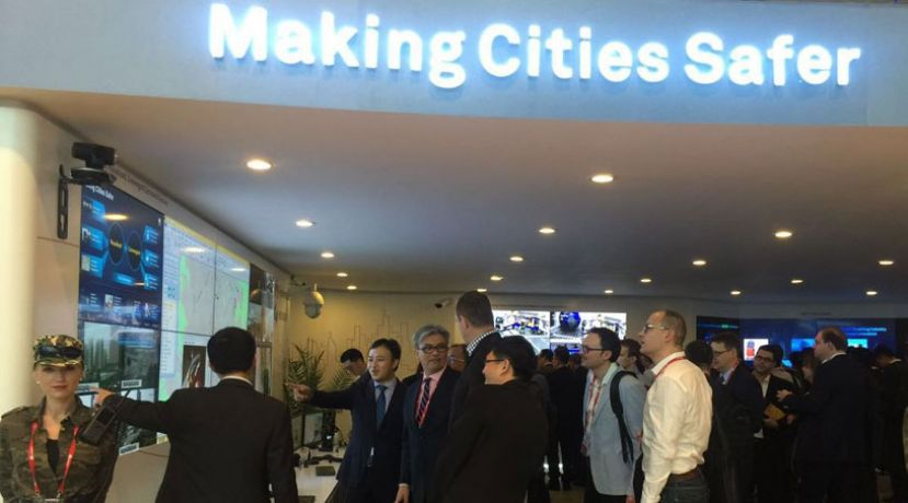 Huawei Safe City Solution Experience Center at MWC 2016
