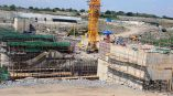 Karuma dam is under construction by Sinohydro Corporation from China