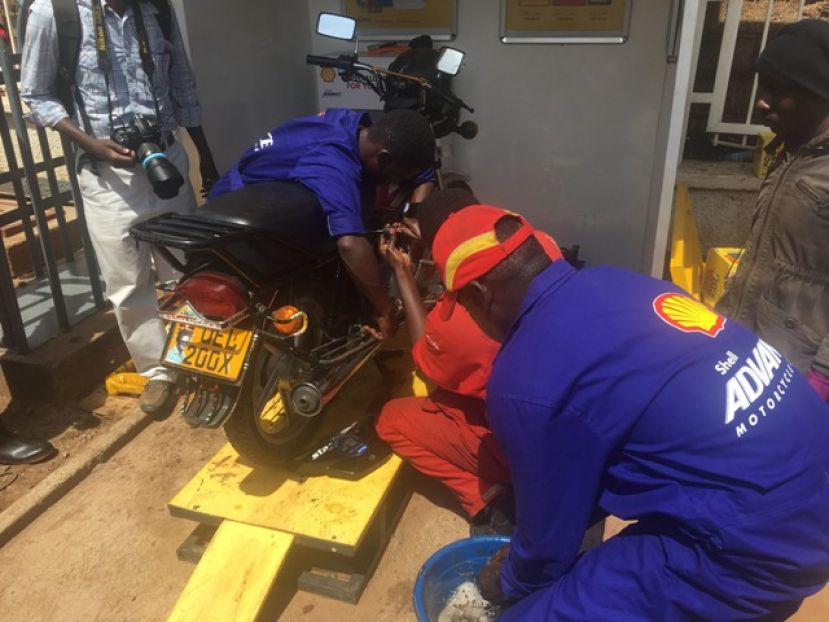 Shell Boda Club is a part of a bigger service offering to the Boda-Boda rider