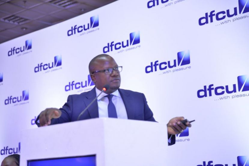 Mathias Katamba, the Chief Executive Officer DFCU Bank