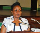 State Minister for Environment Mary Goretti Kitutu
