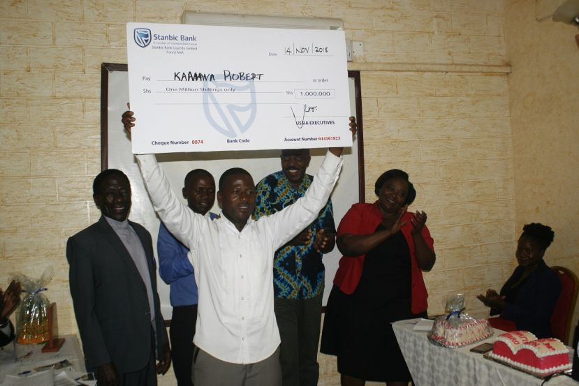 Bunyoro Young Innovators Rewarded