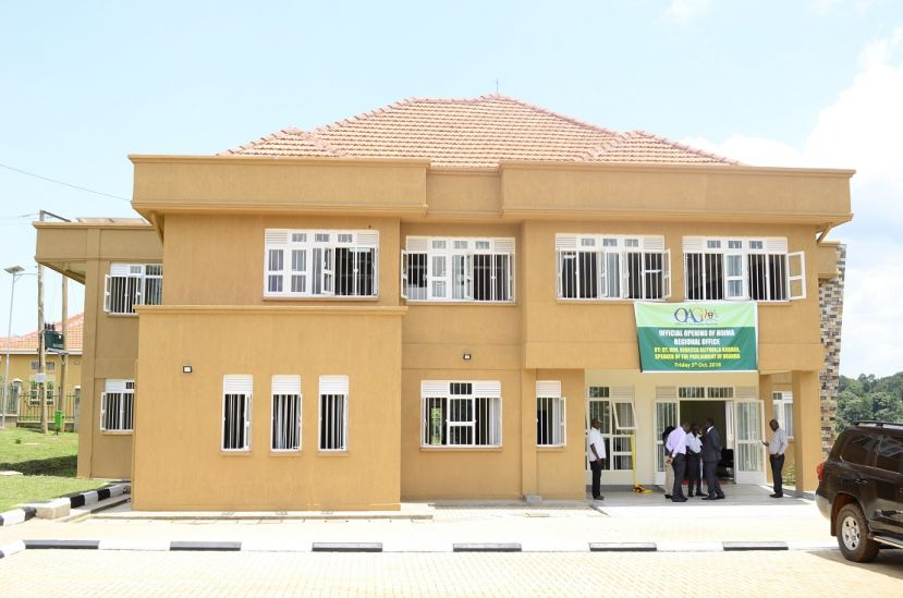 Construction Of Shs4bn Auditor General Office In Hoima Complete