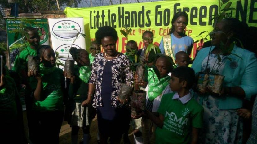Photos: Little Hands Go Green, NEMA Set Pace For Environment Day Celebrations