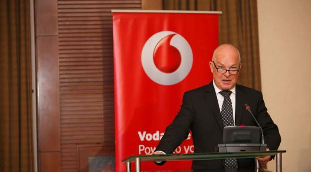 Vodafone Uganda's Chief Executive Officer Allan Richardson