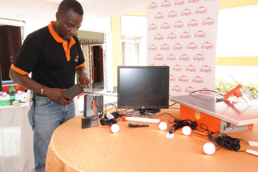 d.light Solar Launches The First Solar Television Of Its Kind In Uganda