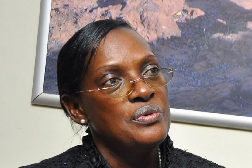 Justine Bagyenda is being accused of money laundering