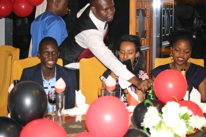 PHOTOS: Vice Chancellor Dines With Victoria University Excelling Students