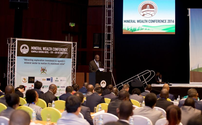Proceedings at last year's mineral wealth conference