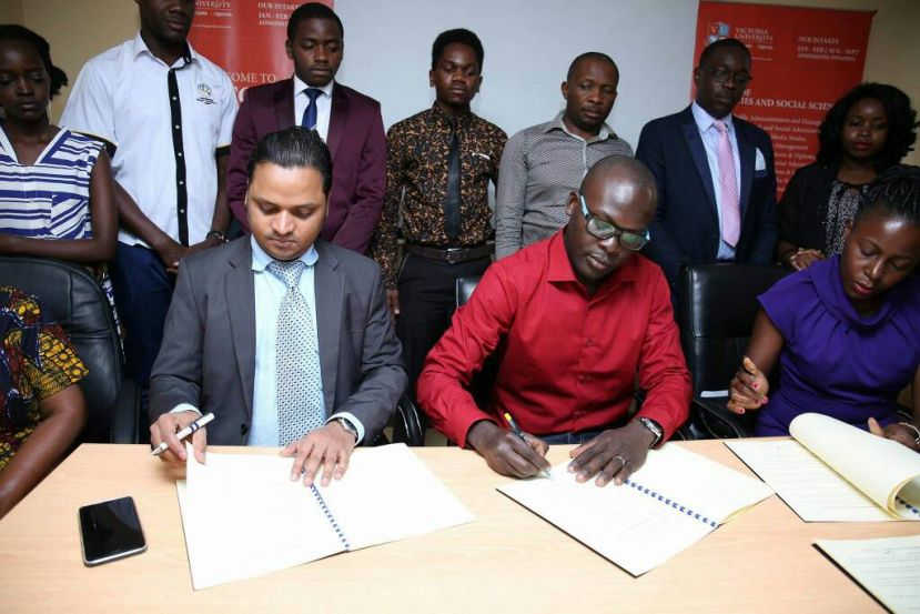 Victoria University, NFT Consult Sign MoU To Prepare Students