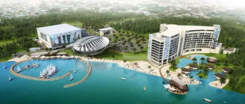 The planned Speke Resort and Convention Centre, Entebbe