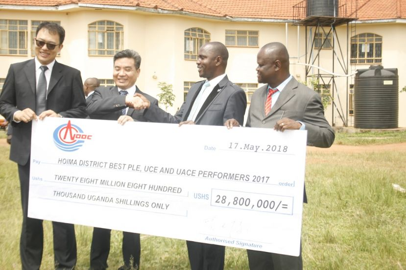 CNOOC Uganda Rewards 90 Best Performing Students In Hoima