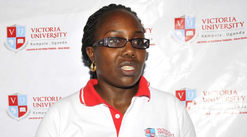 Victoria University's Dr. Patience M. Arinaitwe, the Dean Faculty of Health Sciences