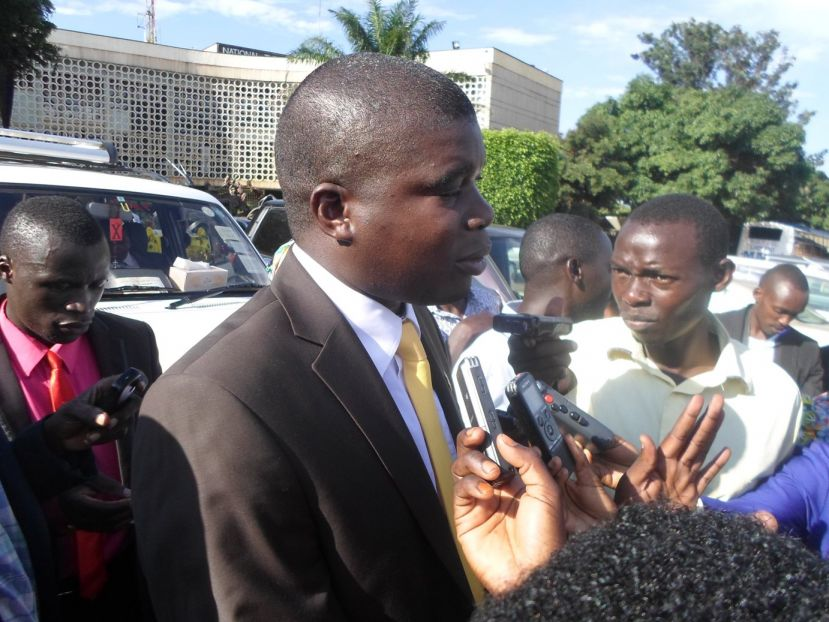 Pius Wakabi Rujumba MP Bugahya who organized the meeting