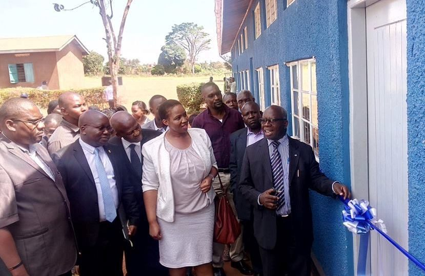 Eskom Uganda this week handed over the newly refurbished Njeru Primary School to the School's management