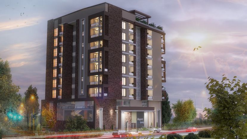 Tagore Living, located in Kamwokya, comprises of 28 apartments