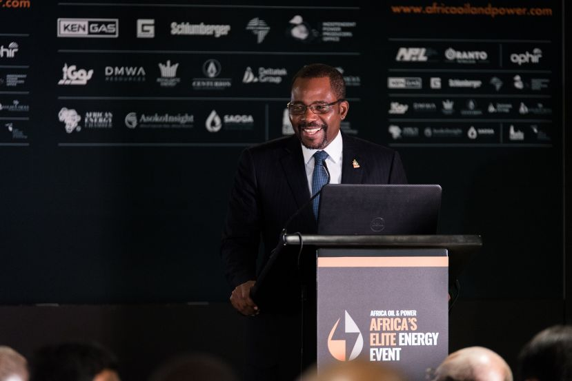 Minister of Mines and Hydrocarbons H.E. Gabriel Mbaga Obiang Lima
