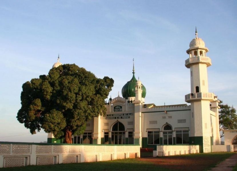 the Kibuli Mosque has a classic feel to it