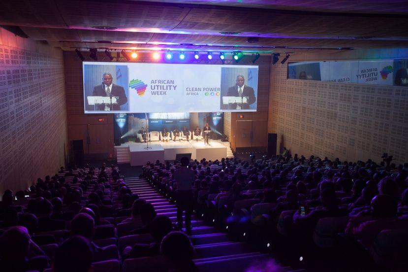 Proceedings at a previous African Utility Week forum