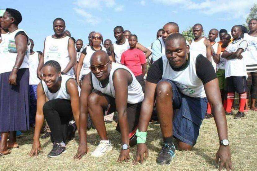 Environmentalists Run For Trees In Ibanda