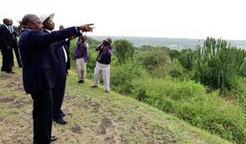 Presidents, Museveni and Kabila recently touring Uganda-DRC border