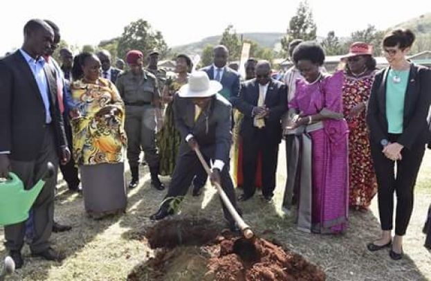 Museveni says protecting the environment is a matter of life and death