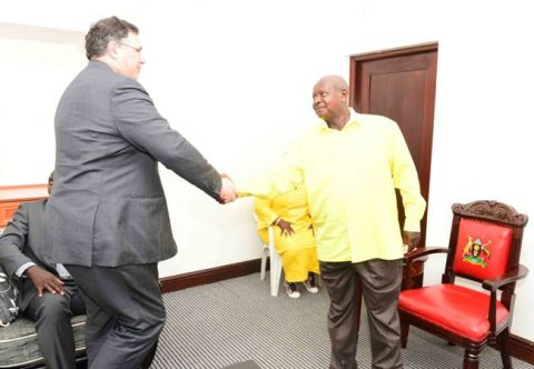 Total Group Chairman and CEO Patrick Pouyanne has on several occassions held talks with President Yoweri Kaguta Museveni regarding the future of Uganda oil and gas sector
