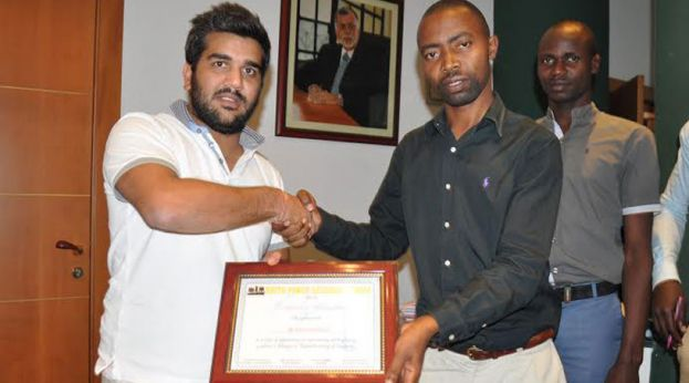 Rajiv Ruparelia was honoured by Ugandan Youth Group that is comprised of thousands of Ugandan Youth across the country for his outstanding contribution, work and supporting the Youth of Uganda.