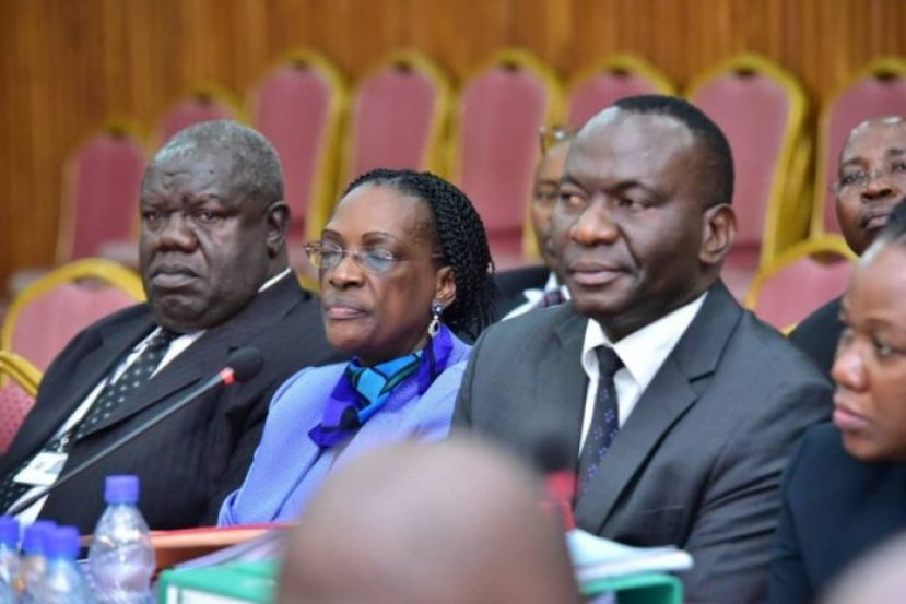 Bank of Uganda officials before COSASE recently