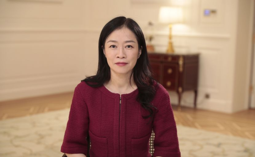 Huawei vice-president Catherine Chen