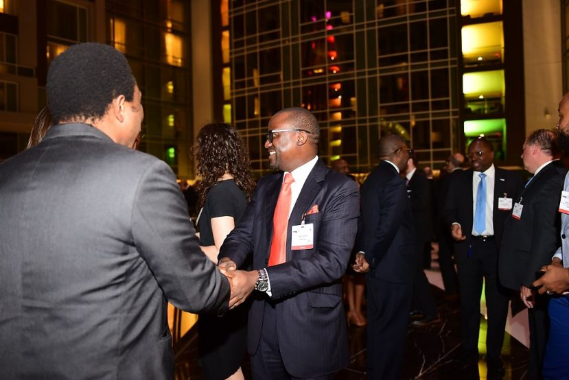Guests networking at the 3rd Powering Africa: Summit in March 2017