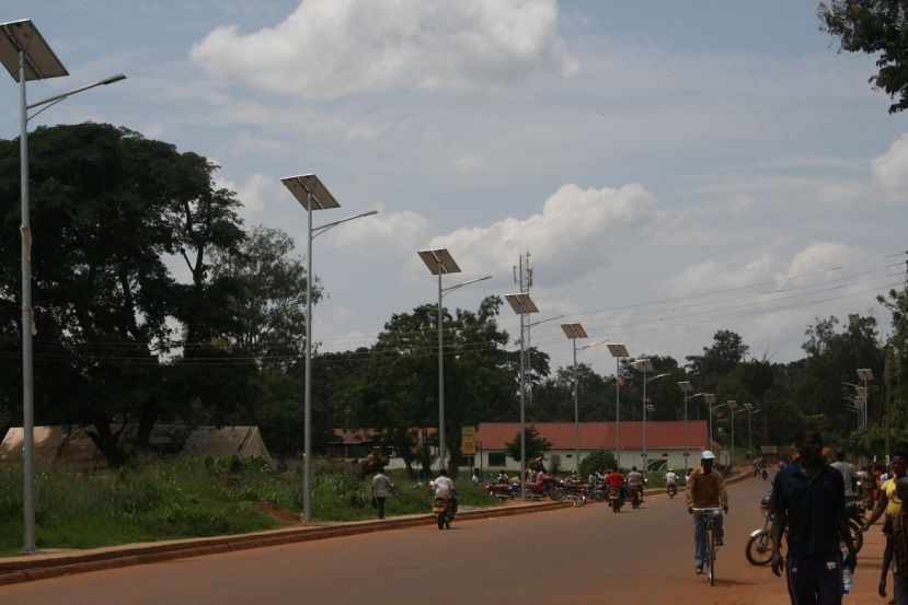 One of the USMID road in Hoima town