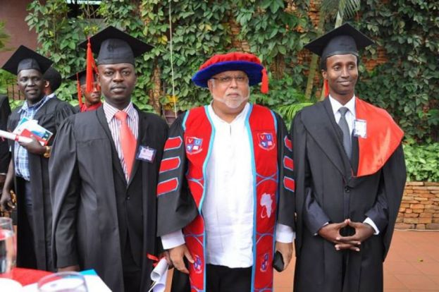 Sudhir Ruparelia has heavily invested in Uganda's education sector