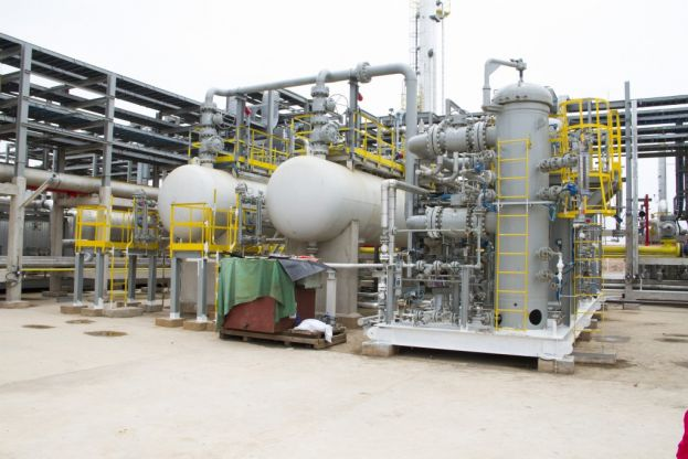 Part of Atuabo Gas Plant in western Ghana